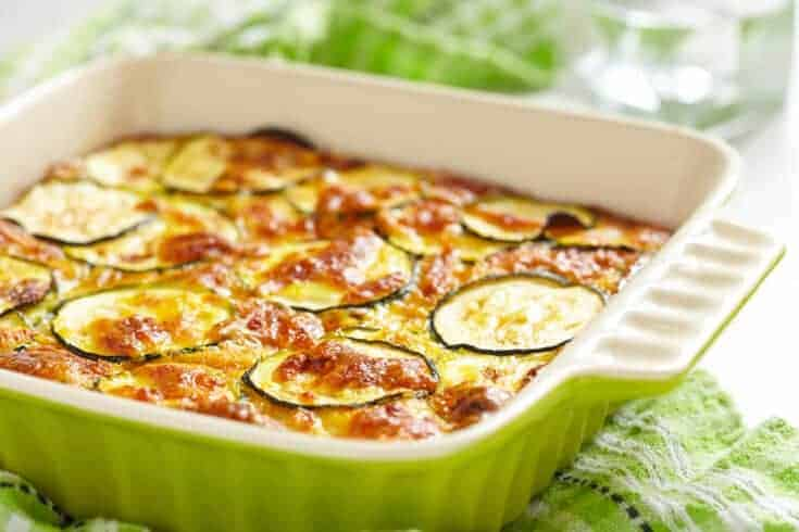 Easy Zucchini Casserole - Cheesy, Low Carb, Keto and Delicious!