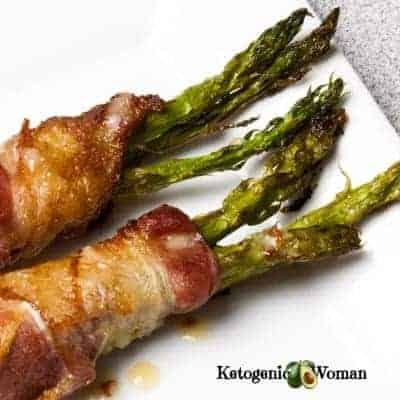 Keto Bacon Wrapped Asparagus Recipe