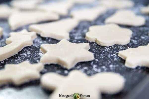 Simple Keto Shortbread Cookies