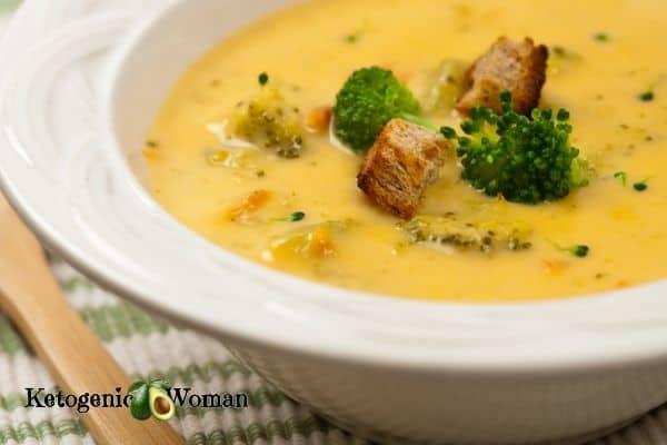 Copy Cat Keto Panera Broccoli Cheese Soup