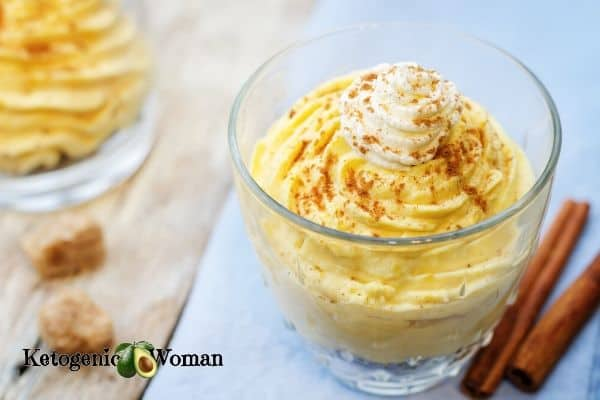 Keto Pumpkin Spice Cheesecake Mousse
