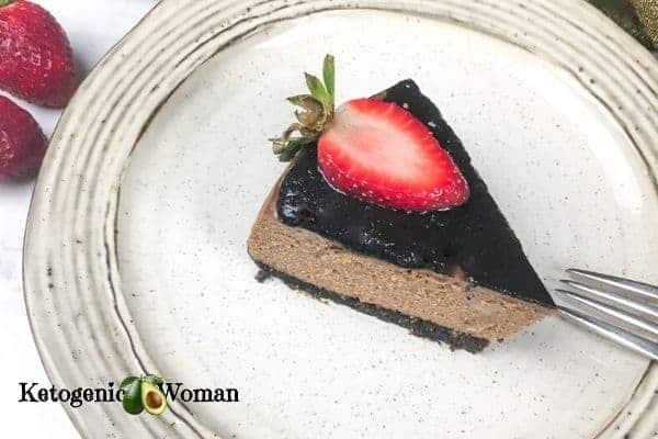 Instant Pot Chocolate Cheesecake!